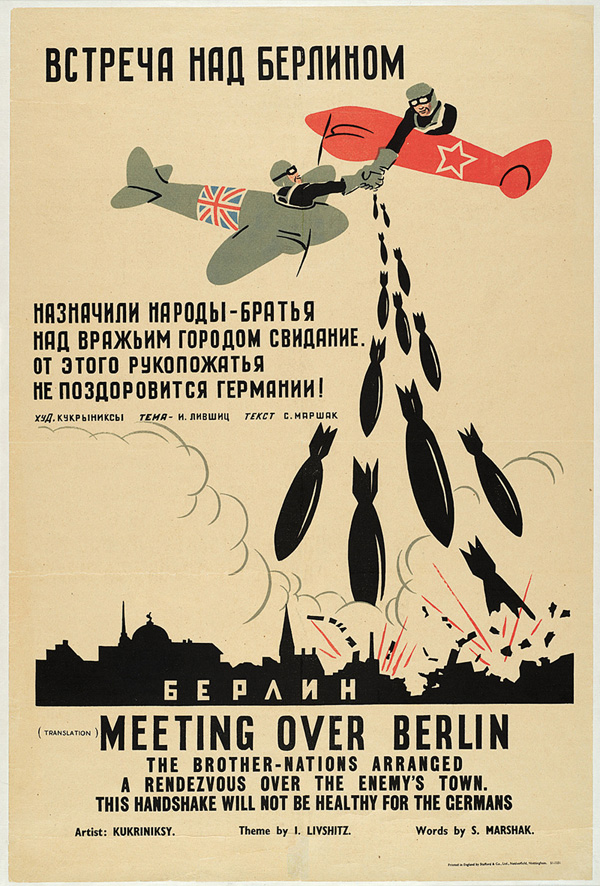 Meeting Over Berlin, 1941